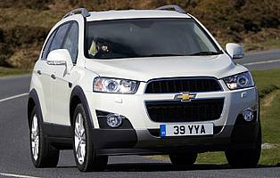 Car Reviews Chevrolet Captiva 2 2 Vcdi Ltz The Aa