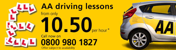 Driving lesson offer