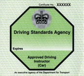 Driving Standards Agency badge