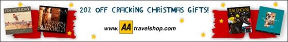 Motoring essentials at AA Travelshop