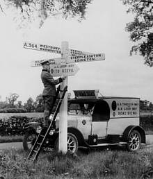 Signs officer (1920s)