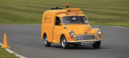 The AA had a fleet of around 100 Minor vans bought between 1968 and 1970
