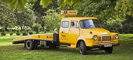 The AA launched its Relay service on 1 October 1973, as an add-on to standard AA breakdown cover