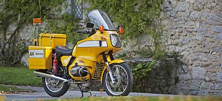 The AA bought this particular BMW R80 in late 1981/early 1982