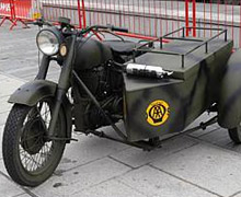 Wooden sidecar