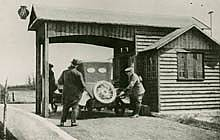 First filling station, Aldermaston