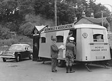 Mobile control office, Inverness (1958)