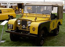 Series One Land Rover