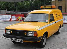 A facelifted Morris Marina