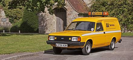 The AA's Morris Ital van was built in 1984, the year production of the car ended