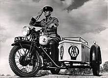Patrol with motorcycle combination