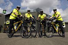 Cycle patrols, Wimbledon
