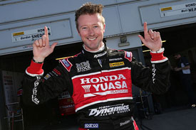 Gordon Shedden, pole position