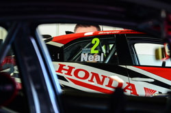 Matt Neal, car