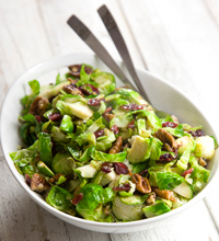 Stir-fried sprouts
