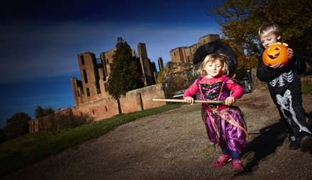 Hallowe'en happenings at Kenilworth Castle
