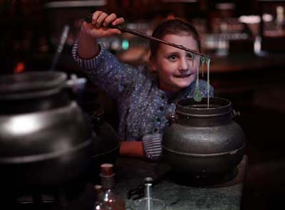 Discover troll snot and more on the Harry Potter tour