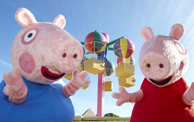 Peppa Pig World at Paulton's