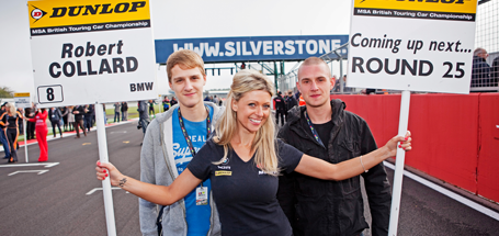 Rewards winners at Silverstone