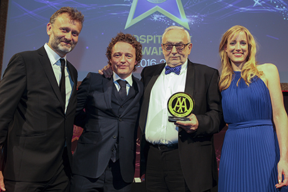 Hugh Dennis, Tom Kitchin, Pierre Koffman and Kirsty Lloyd-Jukes
