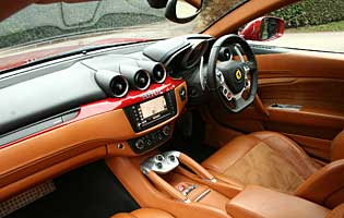 Car Reviews Ferrari Ff 6 3 V12 The Aa