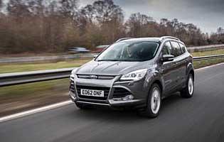 Car Reviews Ford Kuga Titanium 2 0 Tdci 163 The Aa