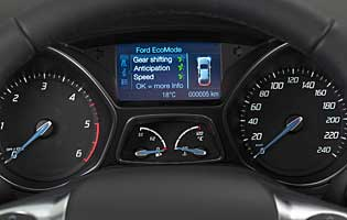 picture of car dashboard