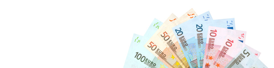Travel money - euros