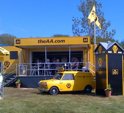 AA Stand at Devon County Show