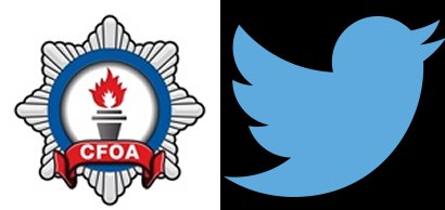 CFOA and Twitter logos