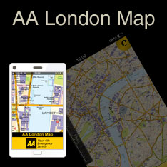 AA London Map app