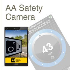 AA Safety Camera app
