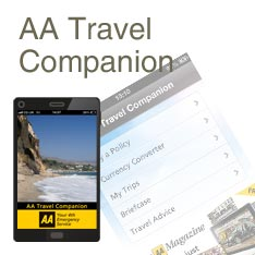 AA Travel Insurance app