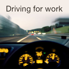 Driving for work