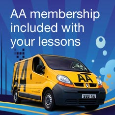 AA membership included with your lessons