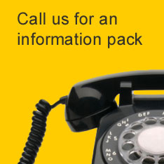 Call us for an information pack