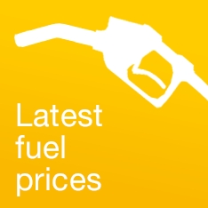 Latest fuel prices