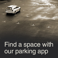 Find a space with our parking app