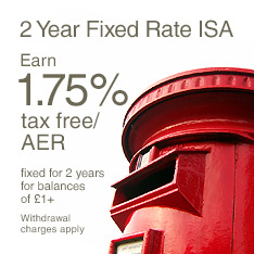 2 Year Fixed Rate ISA 1.75%