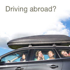 Driving abroad?