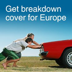 Get breakdown cover for Europe