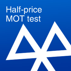 Half-price MOT test