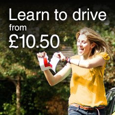 Learn to drive from £10.50