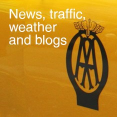 News, traffic, weather and blogs