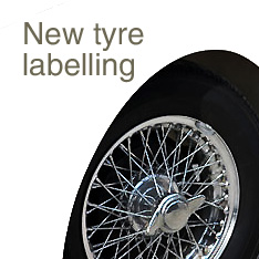 New tyre labelling