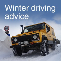 Winter driving advice