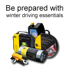 Winter driving essentials from the AA Shop