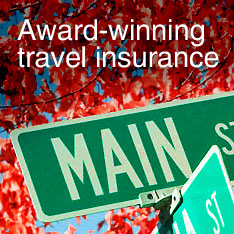 Award-winning travel insurance