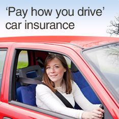 Pay how you drive car insurance