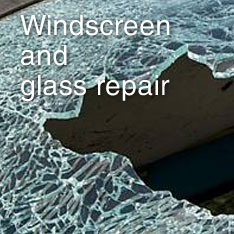 Windscreen and glass repair